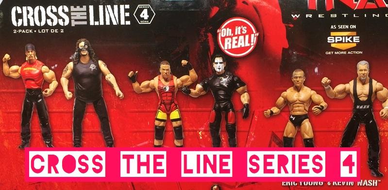 TNA Impact Wrestling Jakks Deluxe Aggression Cross the Line Series 4 Hulk Hogan Abyss Eric Young Kevin Nash Sting Rob Van Dam RVD WWE