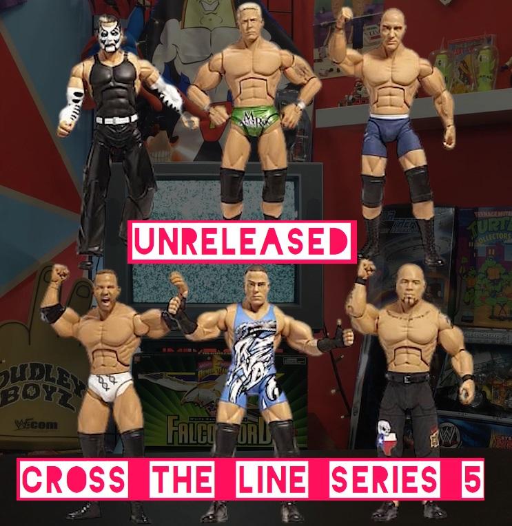 TNA Impact Wrestling Jakks Deluxe Aggression Cross the Line Series 5 Hernandez Mr Anderson Jeff Hardy Rob Van Dam RVD Matt Morgan Desmond Wolf Nigel McGuinness Figures