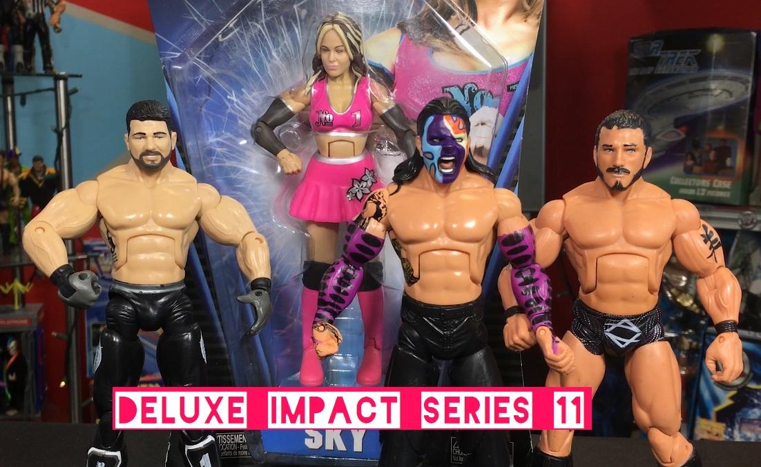 TNA Impact Wrestling Jakks Deluxe Aggression Series 11 AJ Styles Austin Aries Mask Jeff Hardy Velvet Sky Figures