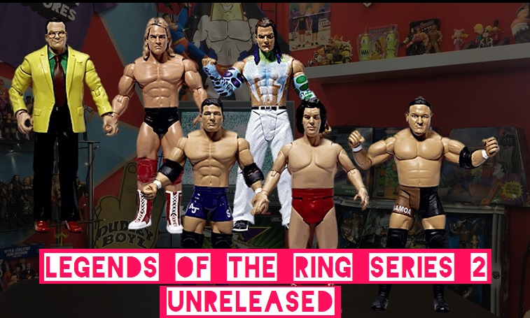 TNA Impact Wrestling Jakks Ruthless Classic Superstars Legends of the Ring Series 2 Terry Taylor Samoa Joe Andre the Giant Jim Cornette AJ Styles Jeff Hardy Unreleased Cancelled Prototype Figures