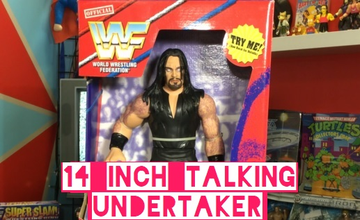 Talking 14 Inch WWF Playmates The Undertaker Figure Tattoos